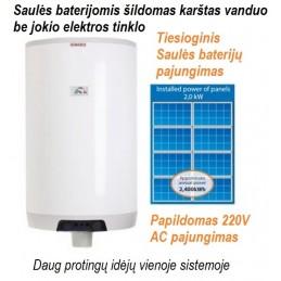 Boileris saulės baterijoms...