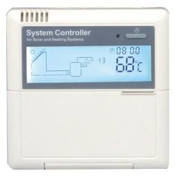 Valdiklis saulės kolektorių sistemai SR868C8