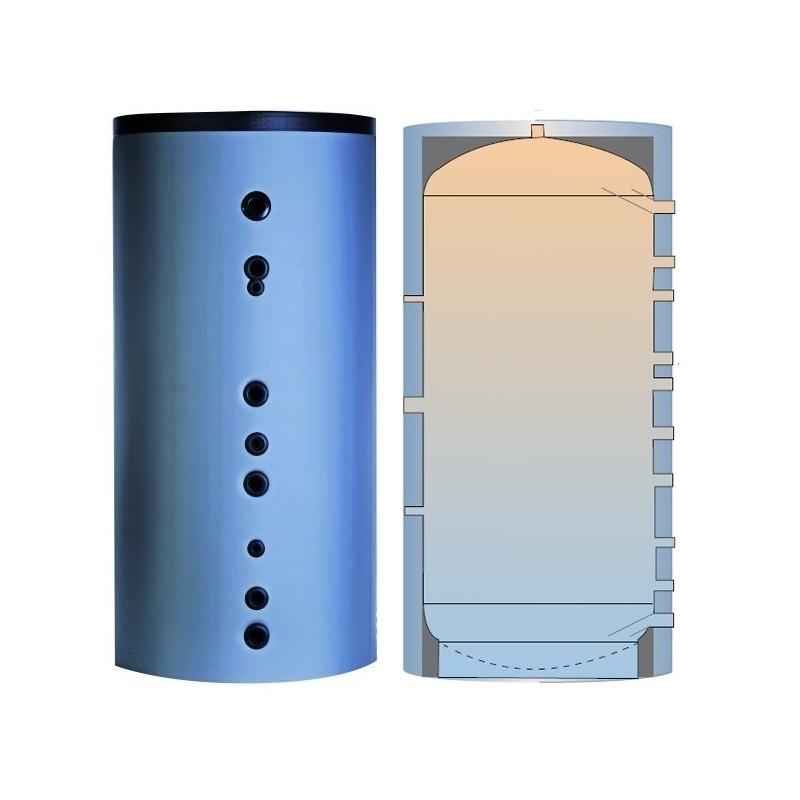 P 500 akumuliacinė talpa su izoliacija