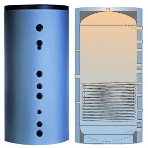 PR 800 akumuliacinė talpa su izoliacija