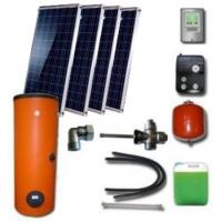 Hibridinė 200Ltr. saulės kolektorių sistema