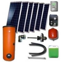 Hibridinė 300Ltr. saulės kolektorių sistema