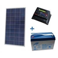Autonominė 250W GEL saulės elektrinė