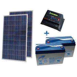 Autonominė 500W GEL saulės elektrinė