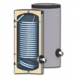 SWP N 150 vandens šildytuvas su vienu didelio ploto šilumokaičiu