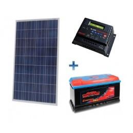 Autonominė 250W saulės elektrinė